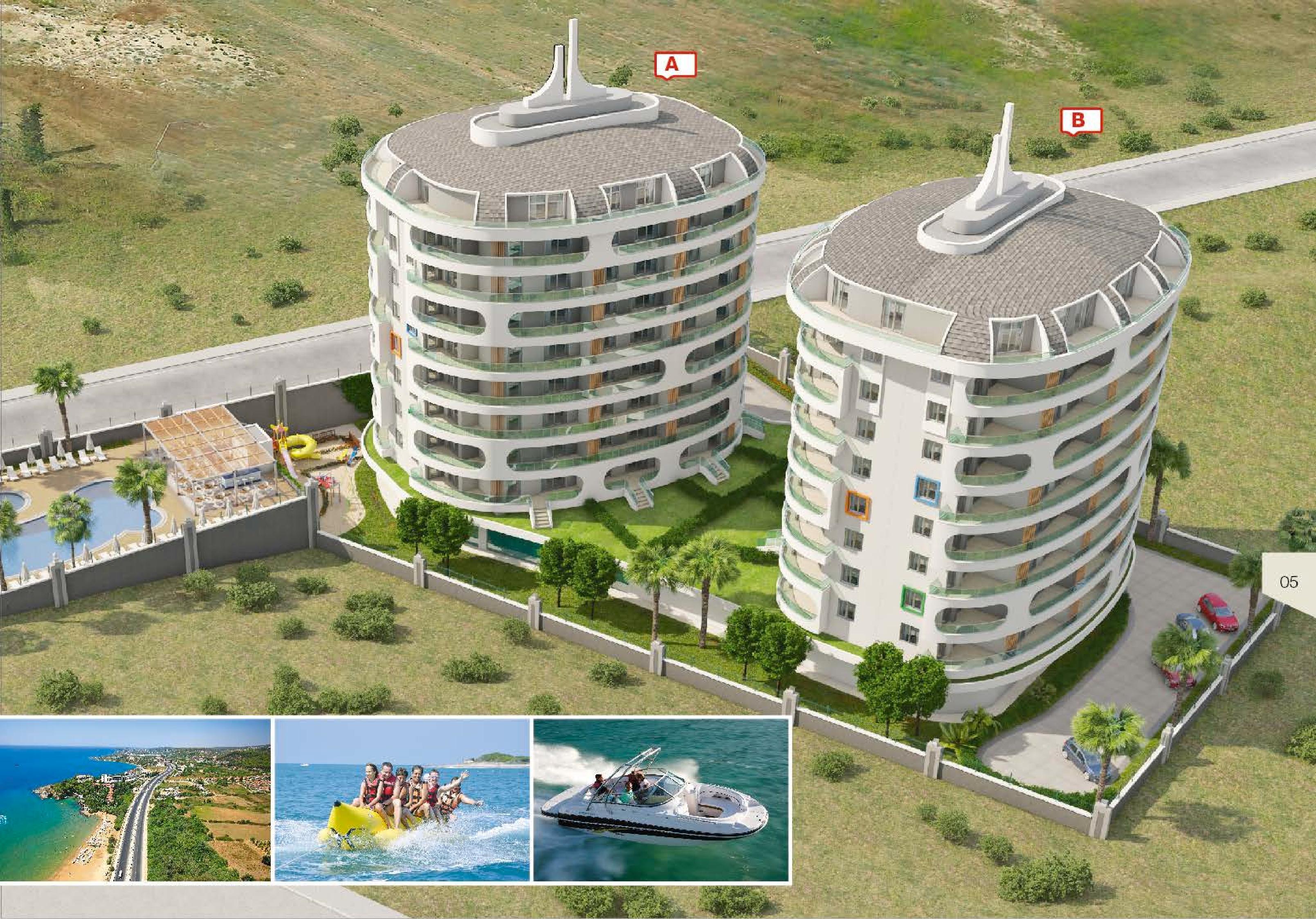 Cheap Apartments in Alanya / Avsallar