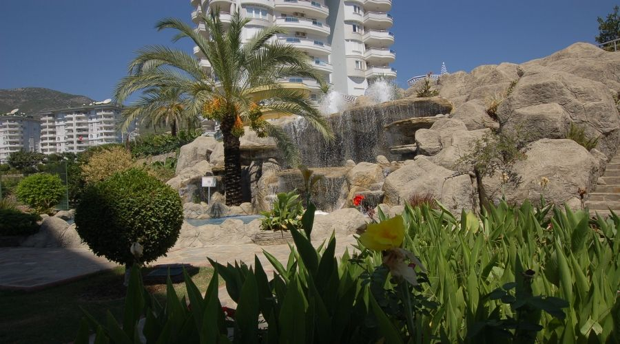 Resale Banana Garden Apartment in Alanya  IDEAL