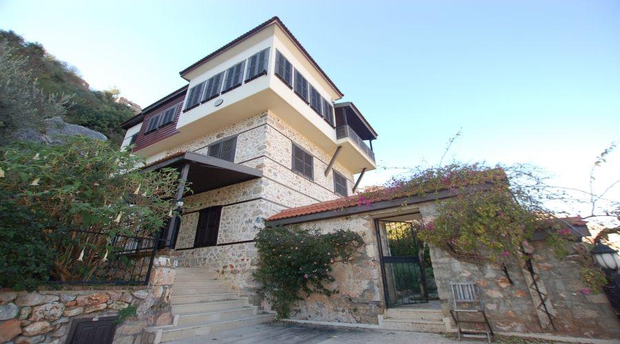 Turkish Design Villa at Castle of Alanya