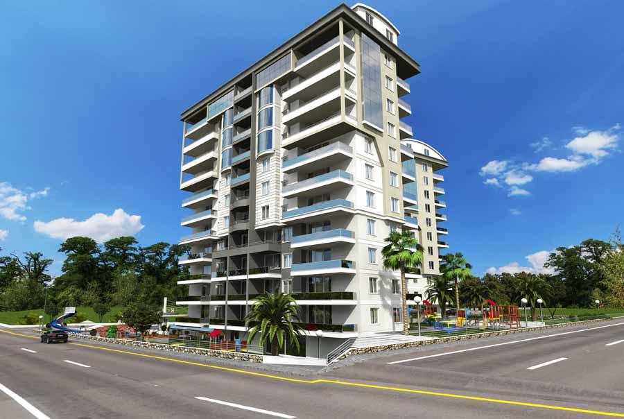 Konak Towers Apartments, Alanya Cikcilli 2base